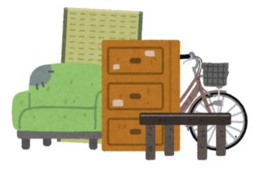 不用品回収は自治体と回収業者、どちらに依頼する?申し込み方法と注意すべき点