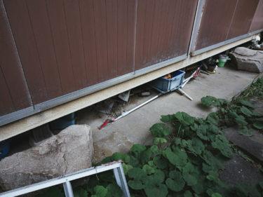 広島県三次市で不用品回収と草刈り】食器棚やタンスなどの不用品回収と草刈りを行いました