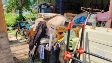 【広島県三原市】古い物置の不用品回収を行いました
